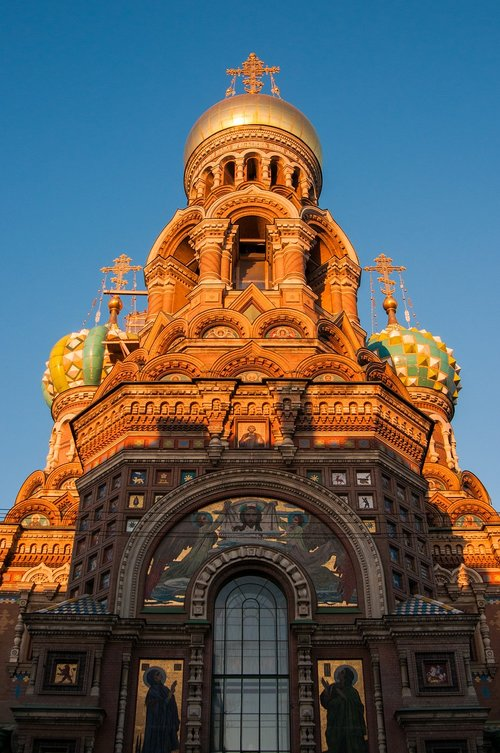 st petersburg russia  our savior on the blood  architecture