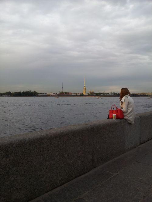 st petersburg russia russia quay