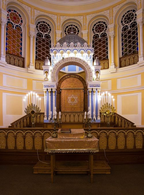 st petersburg russia choral synagogue interior