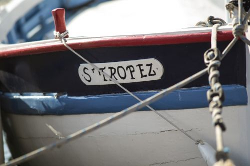 st tropez old boat sailing boat