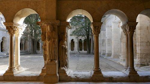 st-trophime cloister arles