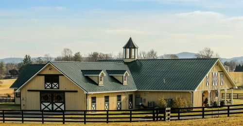 stable barn horse barn
