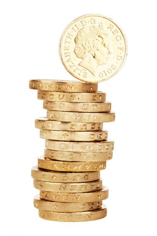 verslas, pinigai, moneta, koncepcija, kreditas, valiuta, finansai, finansinis, auksas, auksinis, izoliuotas, turgus, pinigai, krūva, svaras, taupymas, krūva, atsargos, turtas, balta, krūva krūva