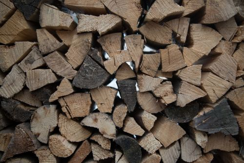 Stacked Firewood