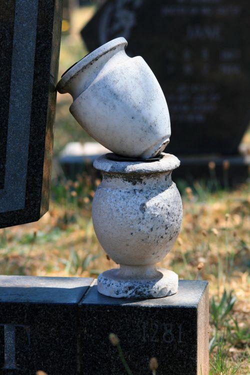 kapinės, puodai, gėlė, sukrauti, sukrauti gėlių puodai