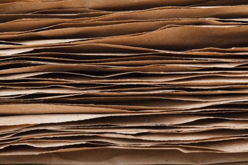 Stacked Paper Sheets