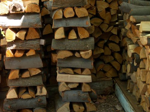 Stacked Wood Pile