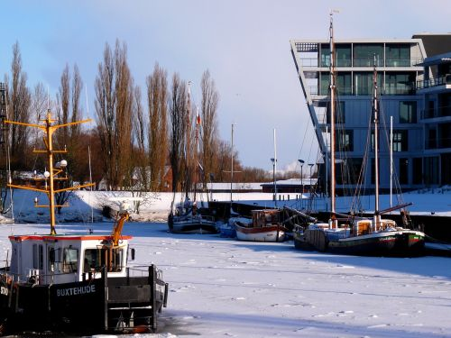 stade hanseatic city winter