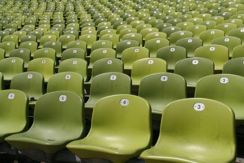 stadium sit plastic
