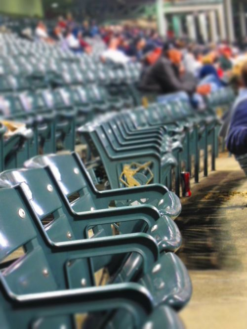 stadium baseball seats