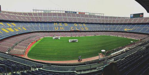 stadium field grandstand