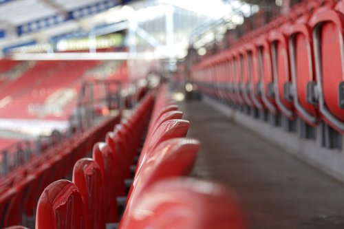 stadium  sit  row