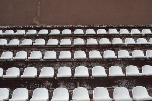 stadium  tribune  viewers
