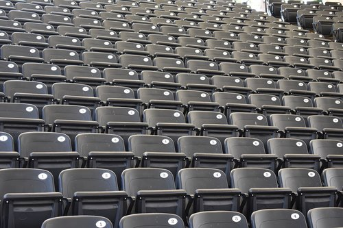 stadium  seats  chairs