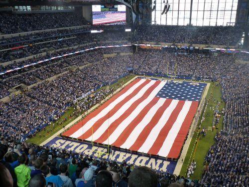 stadium flag colt's game