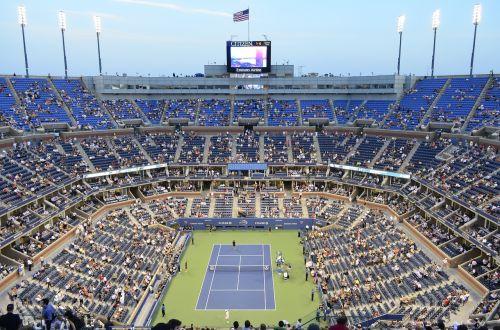 stadium tennis court tennis