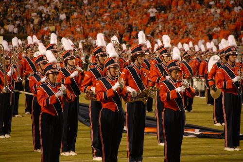 stadium auburn marching band