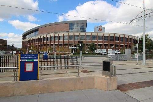 stadium minnesota university