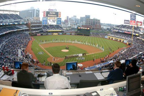 stadium baseball field