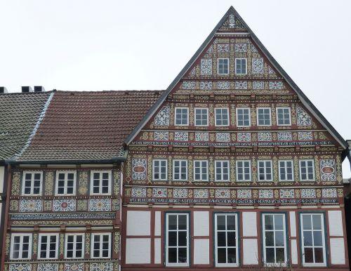 stadthagen lower saxony fachwerkhaus