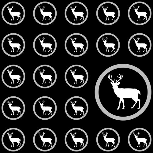 Stag Wallpaper Background