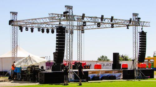 stage concert equipment