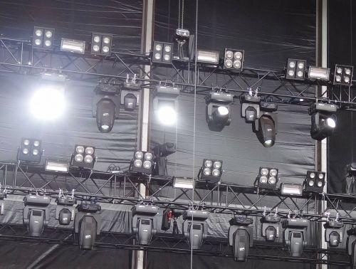stage lighting band