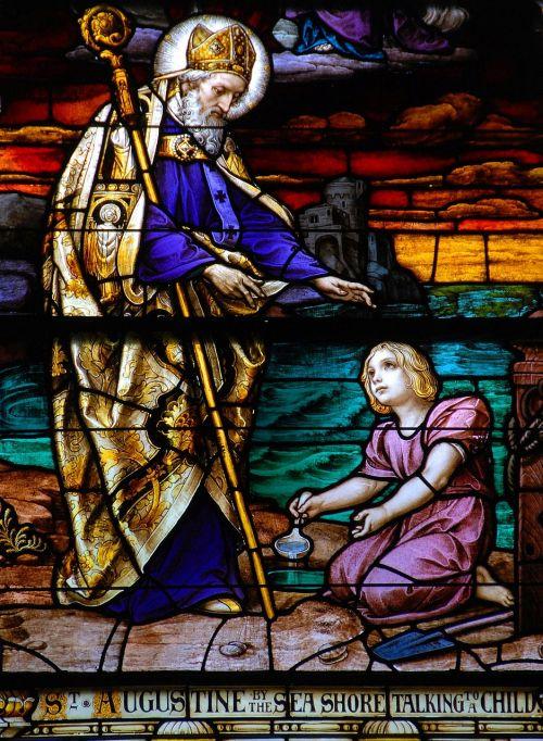 dėmių stiklas,langas,bažnyčia,menas,st augustine,šventas,tikėk,šventė,krikščionis,amžinas,tikėjimas,stiklas,tikėjimas,religija,religinis,dvasia,simbolis,spalvinga,meno