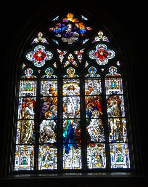dažytas & nbsp, stiklas, dažytos, stiklas, langas, bažnyčia, meno, menas, spalvos, pastatas, interjeras, garbinimas, religija, šventas, dvasinis, krikščionybė, katedra, dėmė stiklo langas