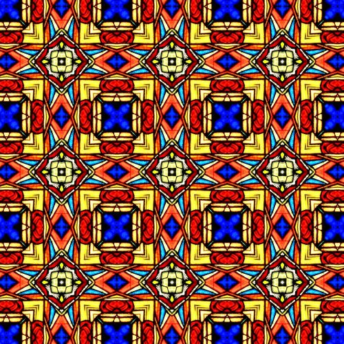 stained glass pattern texture