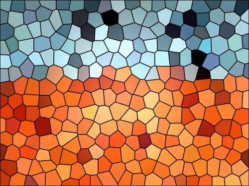 Stained Glass Background Wallpaper