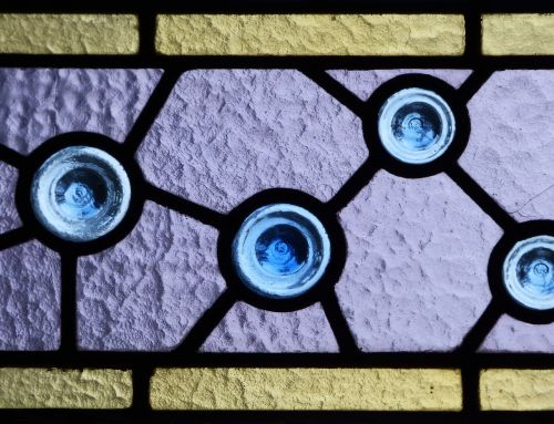stained glass window translucent catalan modernism