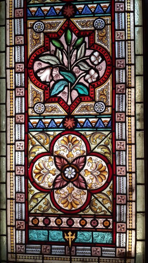 stained glass window church window christian art