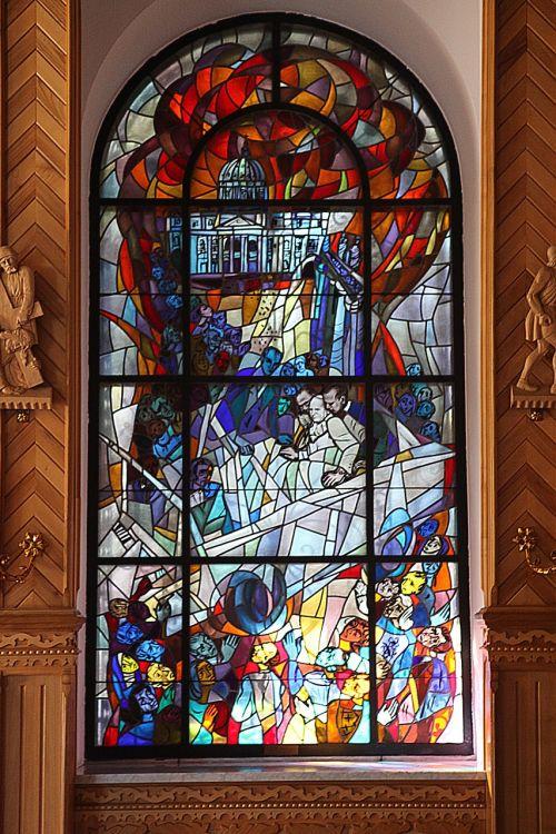 stained glass window window glass