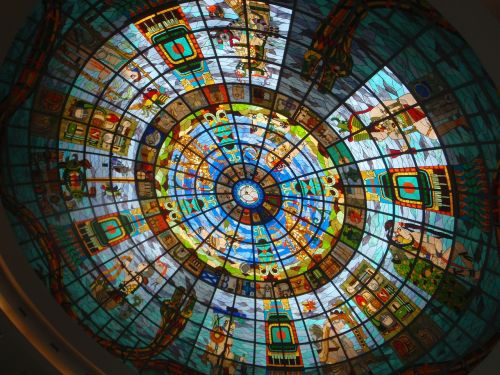 stained glass window society art