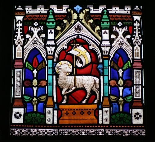 stained glass window st michael's sittingbourne st michael's church