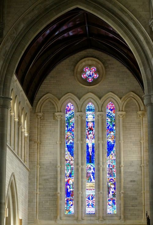 stained glass window cathedral churches