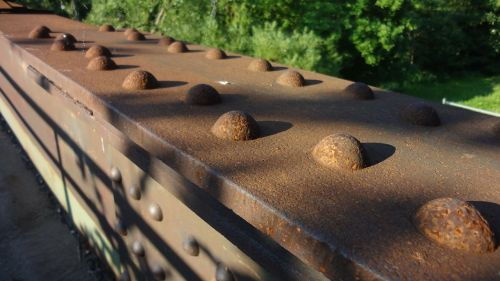 stainless rusty railing