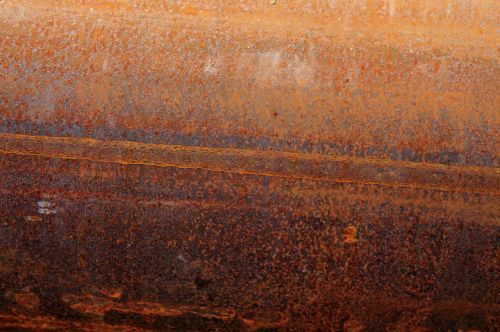 stainless oxidation rusted