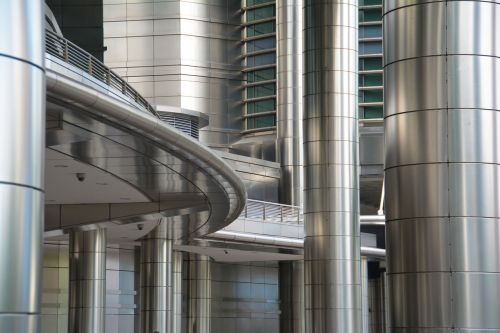 stainless steel building design