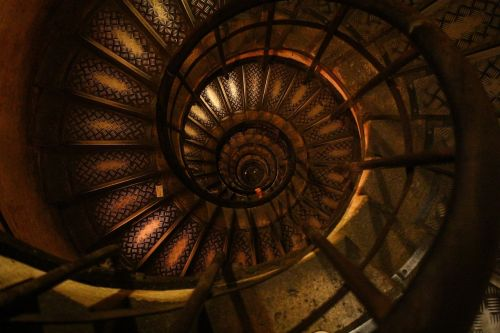 staircase spiral stairway