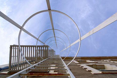 staircase invitation sky