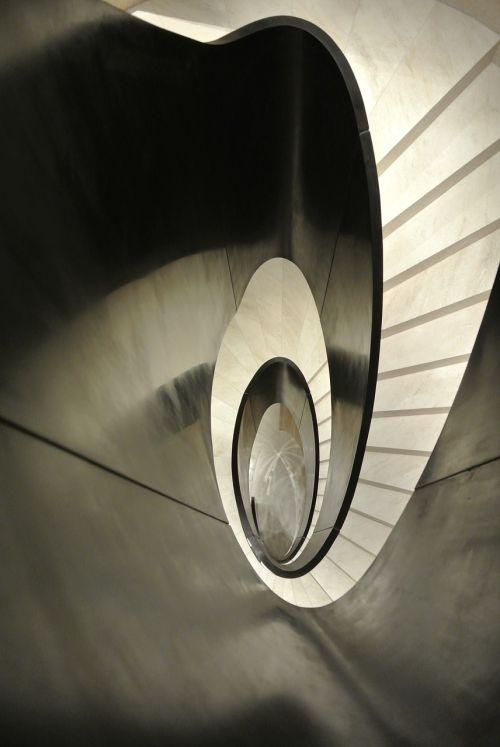 staircase spiral architechture