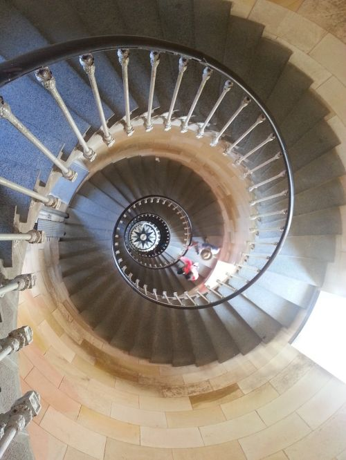 staircase turning point