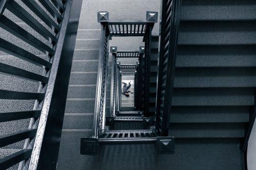 staircase body corpse