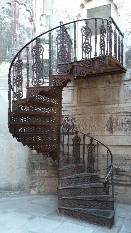 staircase ironwork former