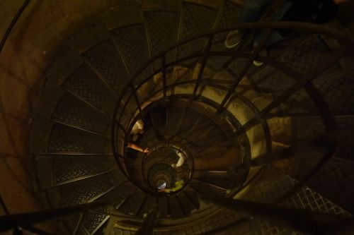 staircase spiral staircase triumphal arch