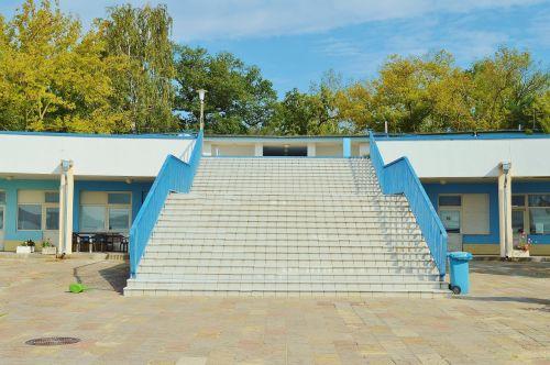 stairs access strandbad