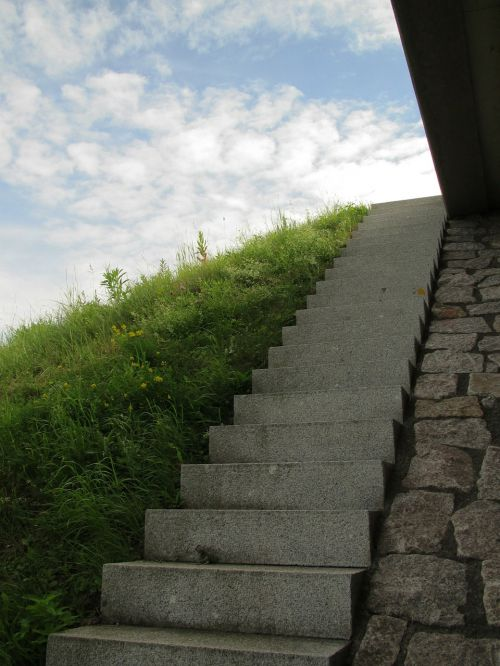 stairs road emergence