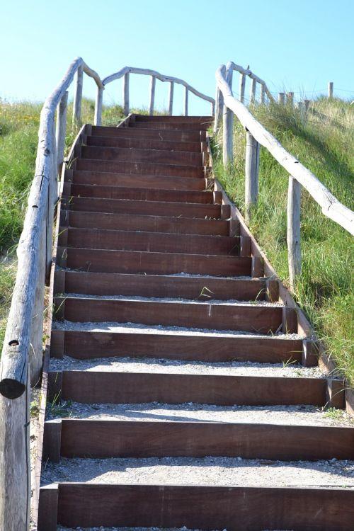 stairs gradually stone